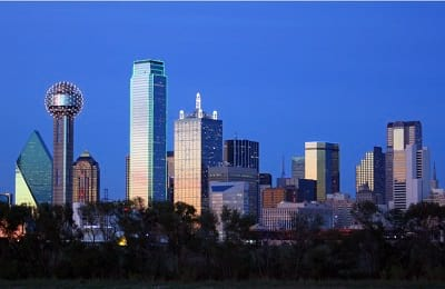 Downtown Dallas Skyline